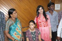 Pratyusha Support helps Dilsukhnagar bomb blast victim, Rajitha who lost her leg in the attack
