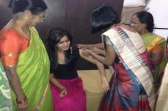 Pratyusha Support organizes a cervical cancer vaccination camp